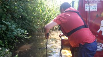 Canal litter pick